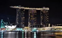 Marina Bay Sands wallpaper 1920x1200 jpg
