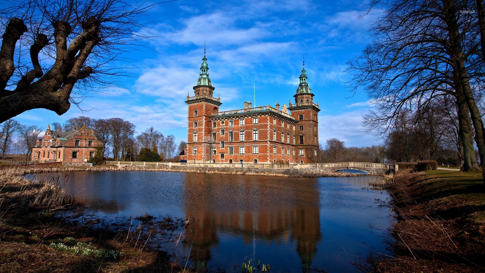 Marsvinsholm Castle Wallpaper World Wallpapers 25452