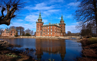 Marsvinsholm Castle wallpaper