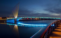 Media City Footbridge wallpaper 1920x1200 jpg