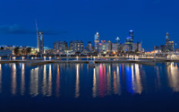Melbourne Docklands [2] wallpaper 1920x1200 jpg