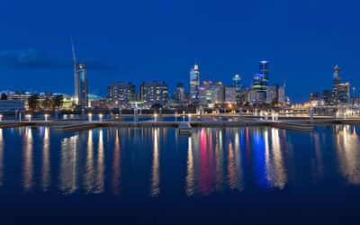 Melbourne Docklands [2] wallpaper