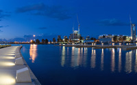 Melbourne Docklands [3] wallpaper 1920x1200 jpg
