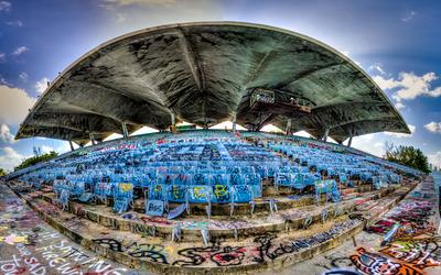 Miami Marine Stadium wallpaper