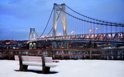 Mid-Hudson Bridge wallpaper