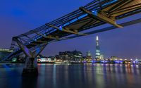 Millennium Bridge wallpaper 1920x1200 jpg