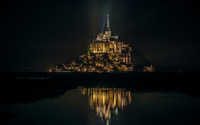 Mont Saint-Michel, France [2] wallpaper 1920x1200 jpg