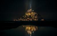 Mont Saint-Michel, France [2] wallpaper 1920x1200 jpg