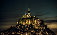 Mont Saint-Michel, France wallpaper 1920x1200 jpg