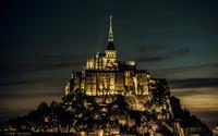 Mont Saint-Michel, France wallpaper 1920x1200 jpg
