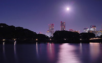 Moonlit bay wallpaper 1920x1200 jpg