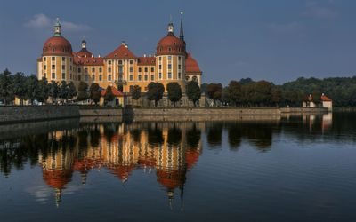Moritzburg Castle in Moritzburg wallpaper