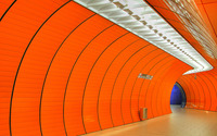 Munchen Marienplatz station wallpaper 2880x1800 jpg