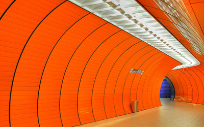 Munchen Marienplatz station wallpaper