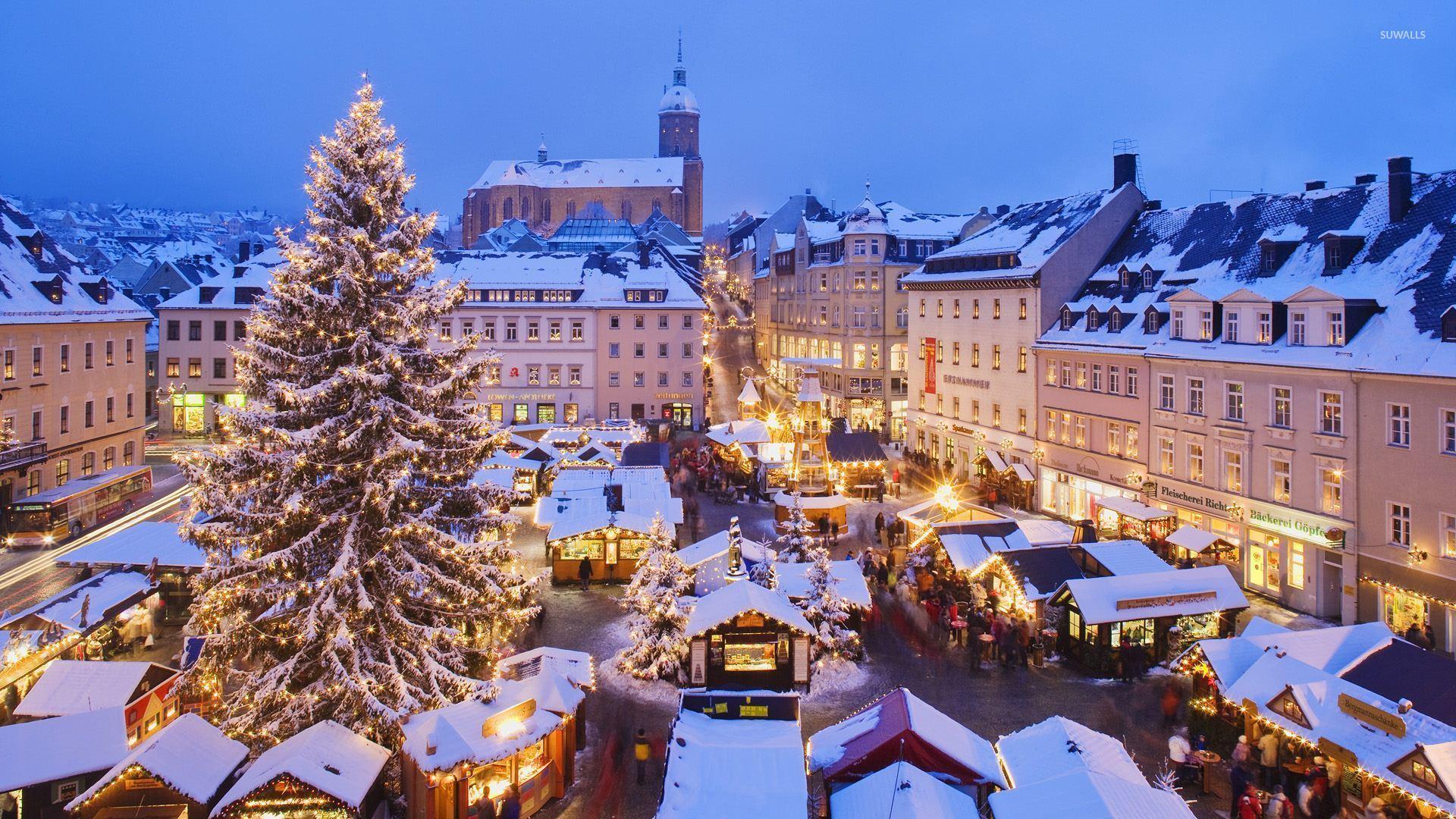 Munich Christmas Market wallpaper - World wallpapers - #51176