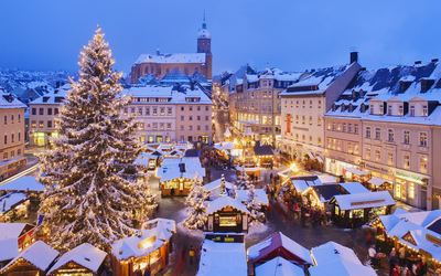 Munich Christmas Market Wallpaper
