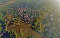 Naarden, Netherlands wallpaper 2560x1440 jpg