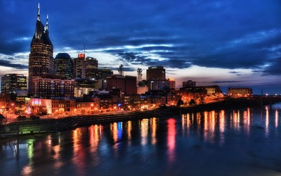Nashville lights wallpaper