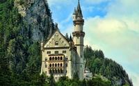 Neuschwanstein Castle [3] wallpaper 1920x1080 jpg