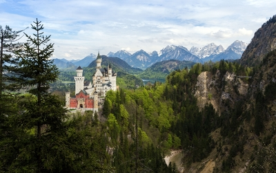 Neuschwanstein Castle [4] wallpaper