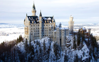 Neuschwanstein Castle wallpaper 2560x1600 jpg