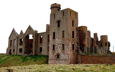 New Slains Castle wallpaper