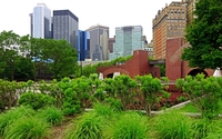 New York City garden wallpaper 2560x1600 jpg