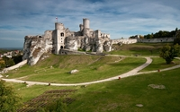 Ogrodzieniec Castle wallpaper 3840x2160 jpg