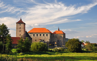 Old castle in Czech Republic wallpaper