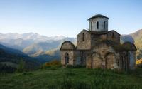 Old church on the cliff wallpaper 1920x1200 jpg