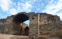 Old fortress wall wallpaper 2560x1440 jpg