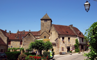 Old small town in France Wallpaper
