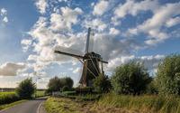 Old windmill wallpaper 2880x1800 jpg