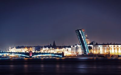 Palace Bridge, St. Petersburg wallpaper
