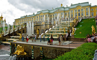 Peterhof Palace wallpaper 2880x1800 jpg
