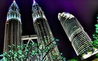 Petronas Towers in Kuala Lumpur wallpaper 1920x1080 jpg
