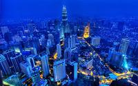 Petronas Towers, Kuala Lumpur [2] wallpaper 1920x1200 jpg
