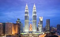 Petronas Towers, Kuala Lumpur wallpaper 1920x1080 jpg