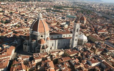 Piazza del Duomo, Florence wallpaper