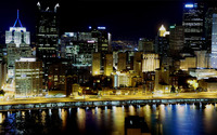 Pittsburgh skyline wallpaper 1920x1200 jpg