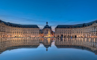 Place de la Bourse in Bordeaux wallpaper 1920x1080 jpg