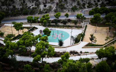 Playground in Alicante wallpaper