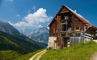 Plumsjochhütte [2] wallpaper 2560x1600 jpg
