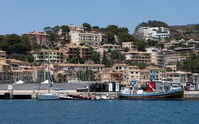 Port de Soller wallpaper