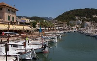 Port de Soller marina wallpaper 3840x2160 jpg