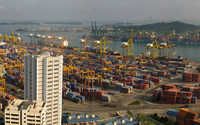Port of Singapore [2] wallpaper 1920x1200 jpg