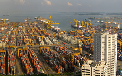 Port of Singapore wallpaper
