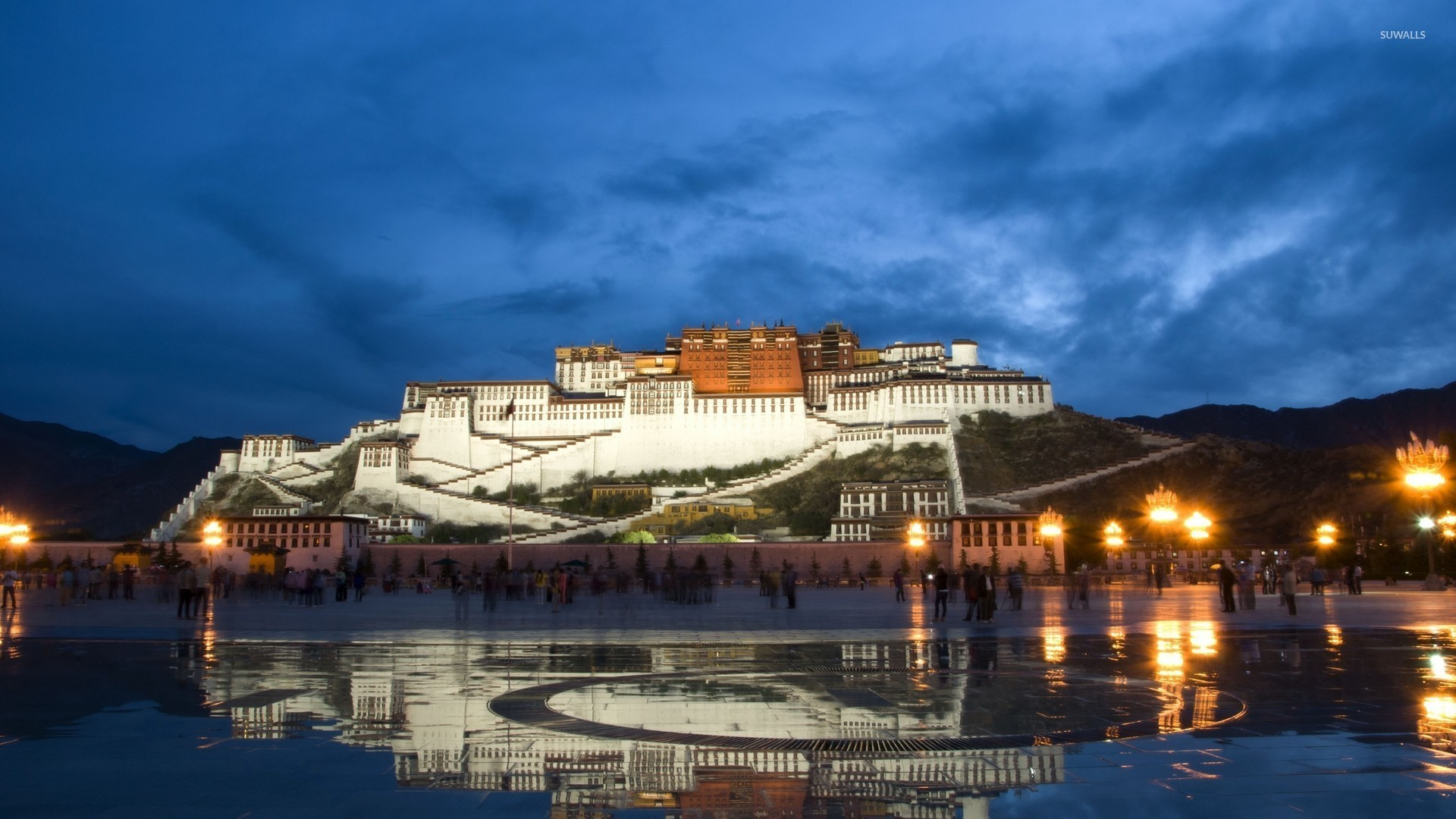 potala palace hd wallpaper