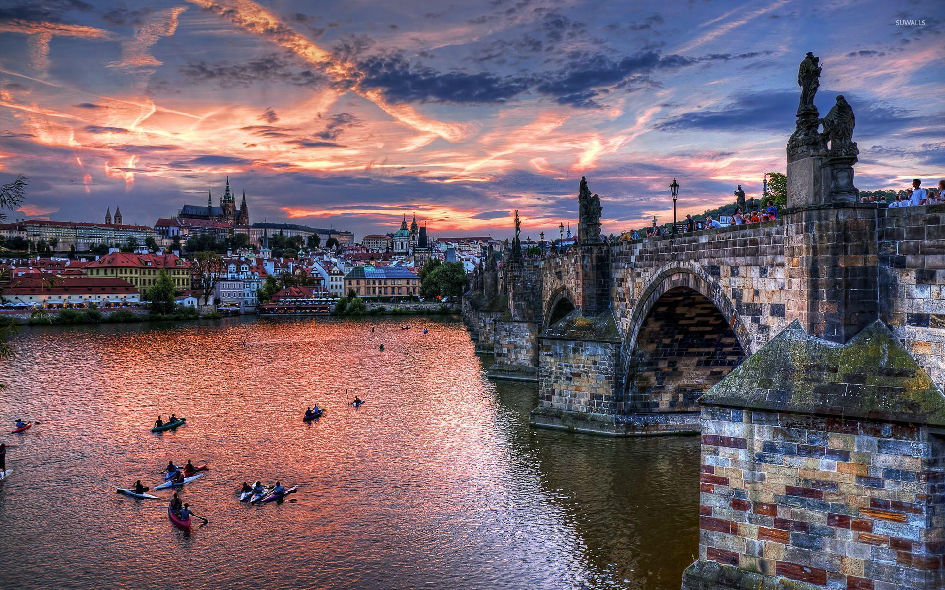 Ночная Прага загрузить