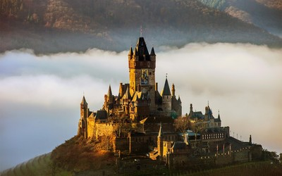 Reichsburg Cochem, Germany wallpaper